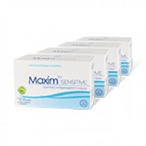 Maxim Sensitive 4-pack Wipes - Save 30%